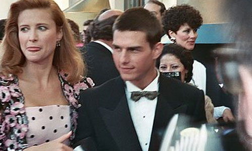 Tom Cruise & Mimi Rogers