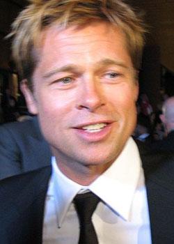 Brad Pitt: Pringles