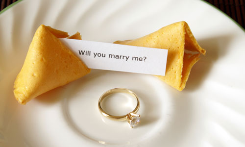 6 Ways to Propose Marriage Using Food