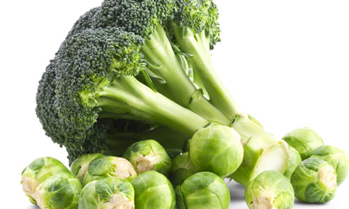 Cruciferous vegetables and leafy green vegetables