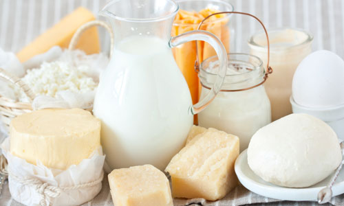 Milk & other Dairy Products: