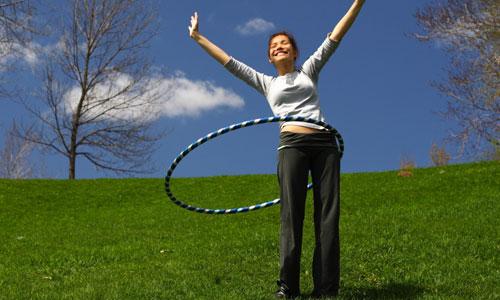 Benefits of Doing Hula Hoop Workout