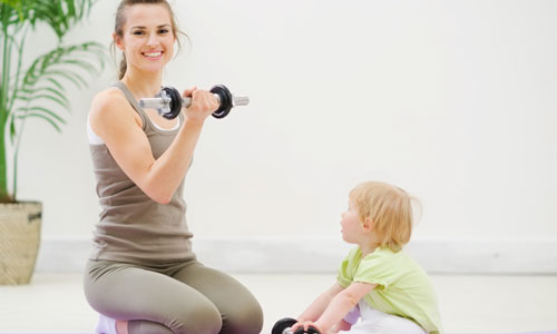 Super Fitness Tips for Busy Moms