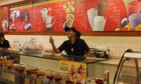 Absolutely Amazing! The Way These Guys Serve Ice Cream. Too Cool!
