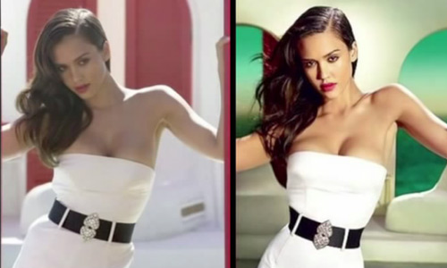 This 5 min video will shock you about how celeb photos are changed in advertising and media