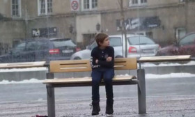Your Heart Will Melt When You See This Child Freezing In The Cold. Would You Help?