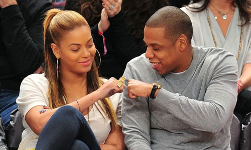 Signs Beyonce may be Separating from Jay Z