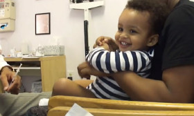 This Super Doc Makes Babies Laugh While Giving Them The Shots!