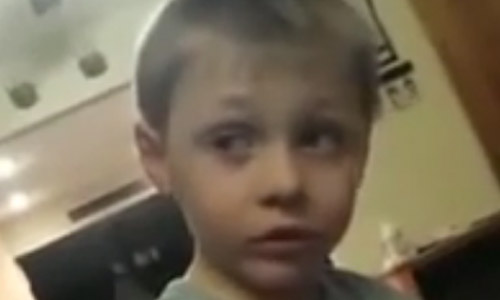 This 5-Year Old Boy Has Got Girlfriend Problems. Hahaha...