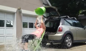 Rico's Grandma Aces The Ice Bucket Challenge With Perfection
