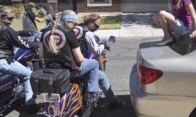 If You Think These Bikers Are Harassing This Girl, You May Be Wrong…