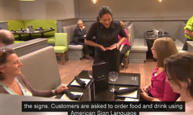 In This Restaurant, Your Order Will Fall On Deaf Ears. Yes, You Heard That Right!