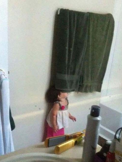 24 Kids Who Still Do Not Know How To Play Hide And Seek?