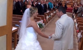 A Father Sings To His Daughter On Her Wedding