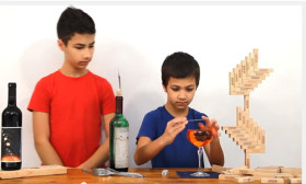 Amazing Show of Balancing Tricks Shown by Two Brothers! Watch The Video!
