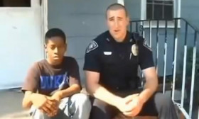 Do You Think That This Boy Had Reasons to be Angry? The Cop Thought So.