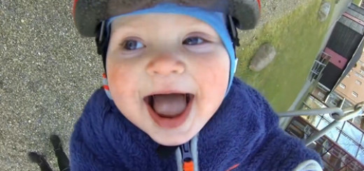 see-how-a-happy-baby-enjoys-swinging