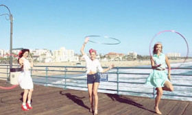 Watch this Amazing Hula Hoop Dance!