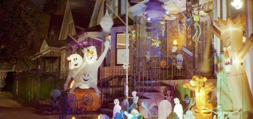 Fun Outdoor Halloween Decorating Ideas