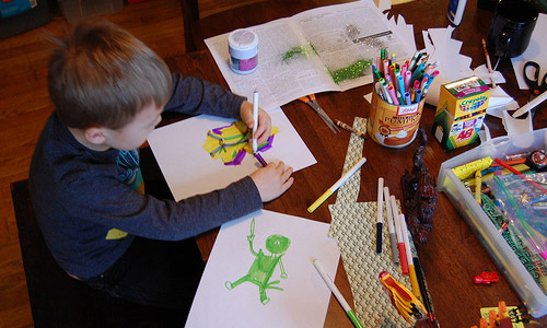 Craft Things To Do In Half Term With Children