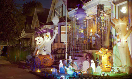 Decorations For A Fun Outside: 7 Fun Outdoor Halloween Decorating Ideas